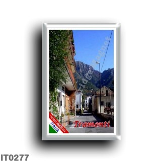 IT0277 Europe - Italy - Campania - Amalfi Coast - Tramonti - Piazza Polvica