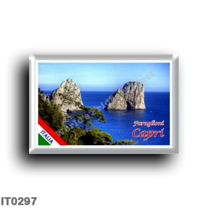 IT0297 Europe - Italy - Campania - Capri - The Faraglioni