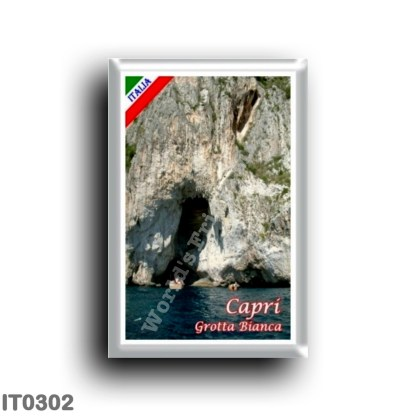 IT0302 Europe - Italy - Campania - Capri - La Grotta Bianca