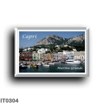 IT0304 Europe - Italy - Campania - Capri - Marina Grande Il Porto