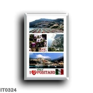 IT0324 Europe - Italy - Campania - Amalfi Coast - Positano I Love