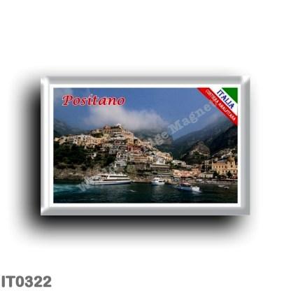 IT0322 Europe - Italy - Campania - Amalfi Coast - Positano Panorama