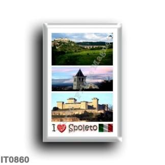 IT0860 Europe - Italy - Umbria - Spoleto - I Love