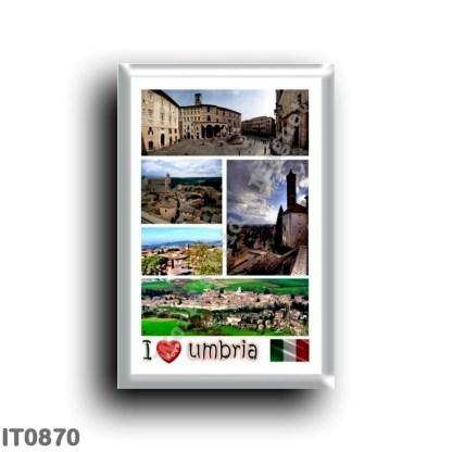 IT0870 Europe - Italy - Umbria - I Love