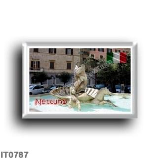 IT0787 Europe - Italy - Lazio - Nettuno - Neptun fountain