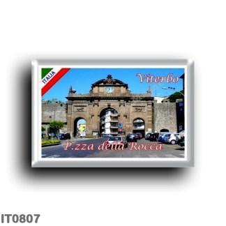 IT0807 Europe - Italy - Lazio - Piazza della Rocca