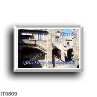 IT0809 Europe - Italy - Lazio - Medieval Quarter - Glimpse
