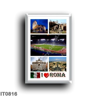 IT0816 Europe - Italy - Lazio - Rome - I Love
