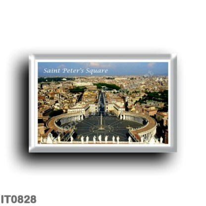 IT0828 Europe - Italy - Lazio - Rome - Piazza San Pietro