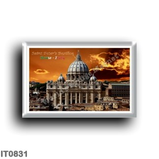 IT0831 Europe - Italy - Lazio - Rome - Saint Peter's Basilica