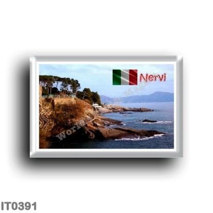 IT0391 Europe - Italy - Liguria - Nervi - Walk and Cliff