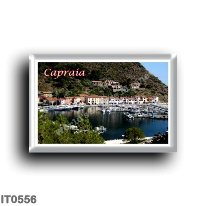 IT0556 Europe - Italy - Tuscany - Capraia - small port