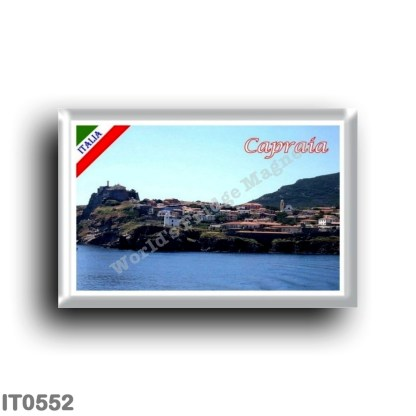 IT0552 Europe - Italy - Tuscany - Capraia - Panorama