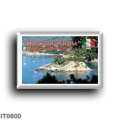 IT0600 Europe - Italy - Tuscany - Elba Island - Marciana Marina - rock of the Paolina