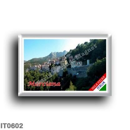 IT0602 Europe - Italy - Tuscany - Elba Island - Marciana Panorama