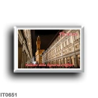 IT0651 Europe - Italy - Tuscany - Florence - Palazzo della Signoria and Uffizi