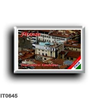 IT0645 Europe - Italy - Tuscany - Florence - Ximenian Observatory