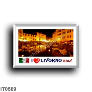 IT0569 Europe - Italy - Tuscany - Livorno - I Love