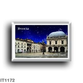 IT1172 Europe - Italy - Lombardy - Brescia - Piazza della Loggia