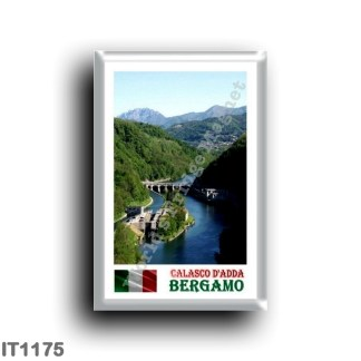 IT1175 Europe - Italy - Lombardy - Calasco d 'Adda - river of the same name