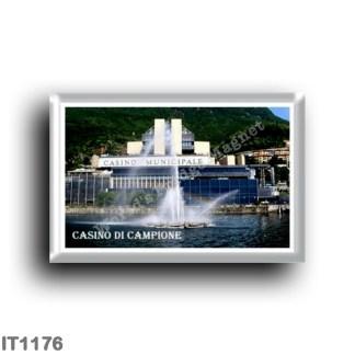 IT1176 Europe - Italy - Lombardy - Campione d'Italia - casino