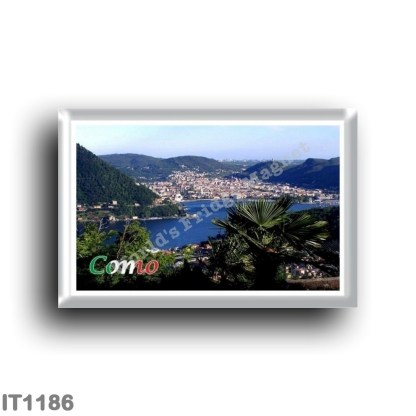 IT1186 Europe - Italy - Lombardy - Como - Panorama