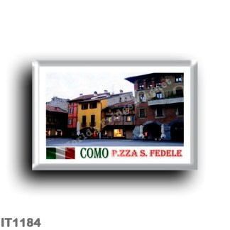IT1184 Europe - Italy - Lombardy - Como - The medieval Piazza San Fedele