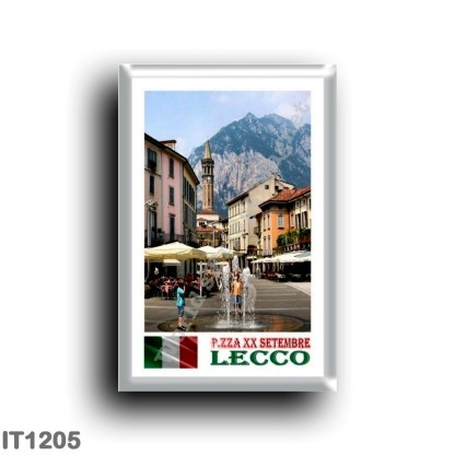 IT1205 Europe - Italy - Lombardy - Lecco - Piazza XX Settembre