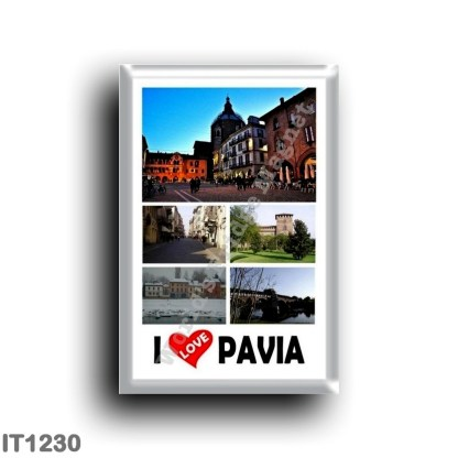 IT1230 Europe - Italy - Lombardy - Pavia - I Love