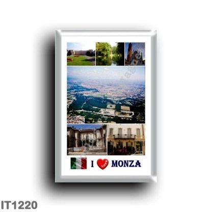 IT1220 Europe - Italy - Lombardy - Monza - I Love
