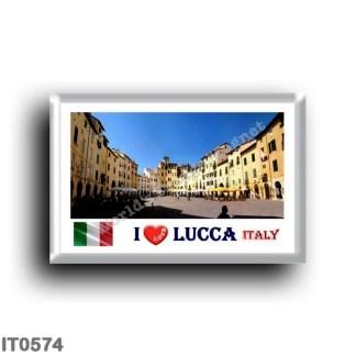 IT0574 Europe - Italy - Tuscany - Lucca - I Love