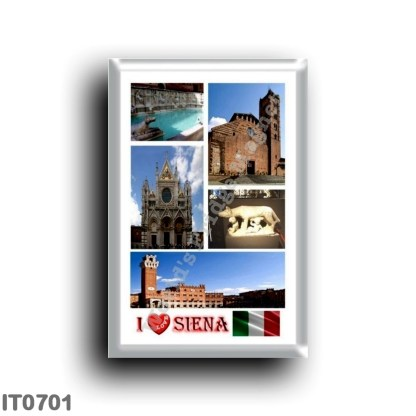 IT0701 Europe - Italy - Tuscany - Siena - I Love