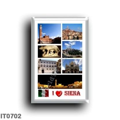 IT0702 Europe - Italy - Tuscany - Siena - I Love