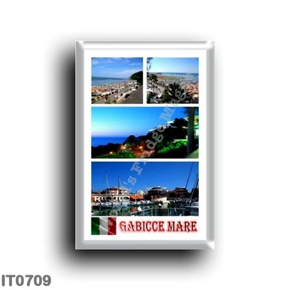 IT0709 Europe - Italy - Marche - Gabicce Mare - Mosaic
