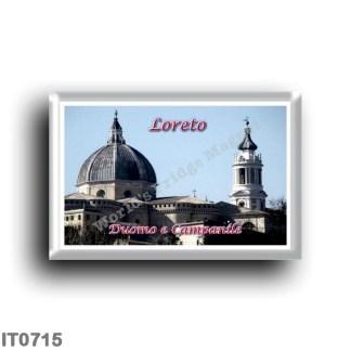 IT0715 Europe - Italy - Marche - Loreto - Duomo and Campanile