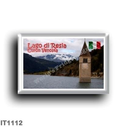 IT1112 Europe - Italy - Trentino Alto Adige - Curon Venosta - Lake Resia