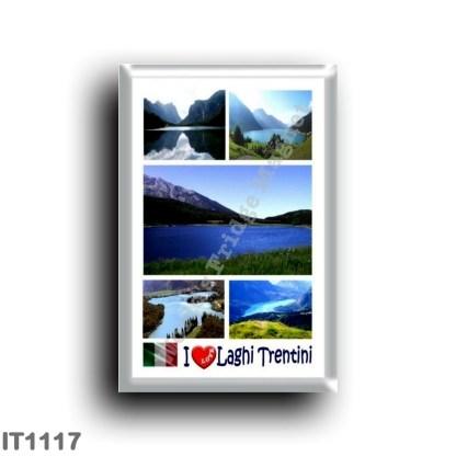 IT1117 Europe - Italy - Trentino Alto Adige - Trentino Lakes - I Love