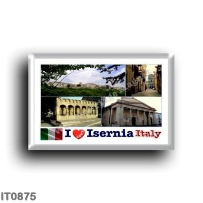 IT0875 Europe - Italy - Molise - Isernia - I Love