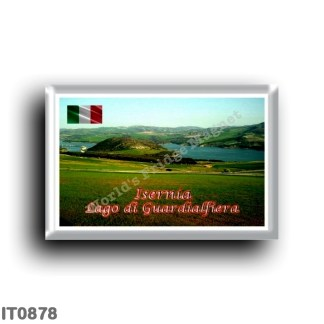IT0878 Europe - Italy - Molise - Lake of Guardialfiera (CB) View