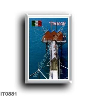 IT0881 Europe - Italy - Molise - Termoli - The new Trabucco