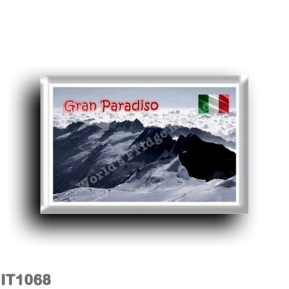 IT1068 Europe - Italy - Piedmont - Gran Paradiso - Le Vette