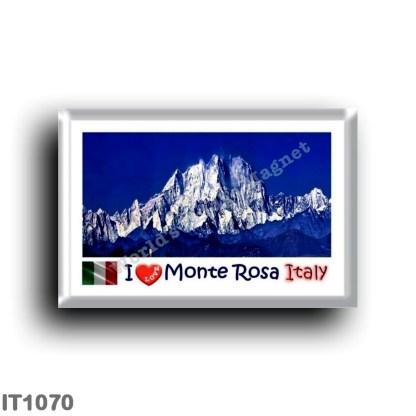 IT1070 Europe - Italy - Piedmont - Monte Rosa - I Love