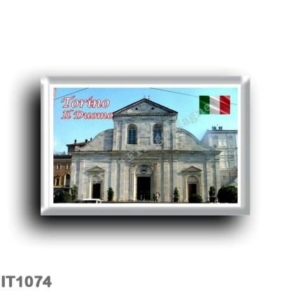 IT1074 Europe - Italy - Piedmont - Turin - Duomo