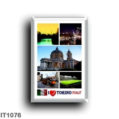 IT1076 Europe - Italy - Piedmont - Turin - I Love