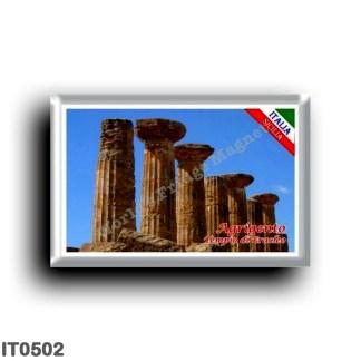 IT0502 Europe - Italy - Sicily - Agrigento - Temple of Eracleo