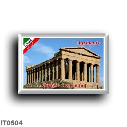 IT0504 Europe - Italy - Sicily - Agrigento - Concordia Temple