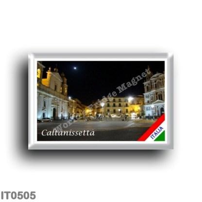 IT0505 Europe - Italy - Sicily - Caltanissetta - Piazza Garibaldi
