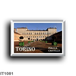 IT1081 Europe - Italy - Piedmont - Turin - Piazza Castello