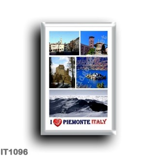 IT1096 Europe - Italy - Piedmont - I Love