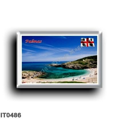 IT0486 Europe - Italy - Sardinia - Sassari - Palmas - Beach